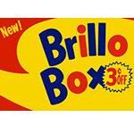 Brillo Box (3¢ off) cover (2017)