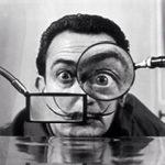 Willy Rizzo's portrait of Salvador Dali (1950)