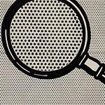 Roy Lichtenstein's Magnifying Glass (1963)