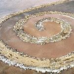 Robert Smithson's Spiral Jetty, (1970)