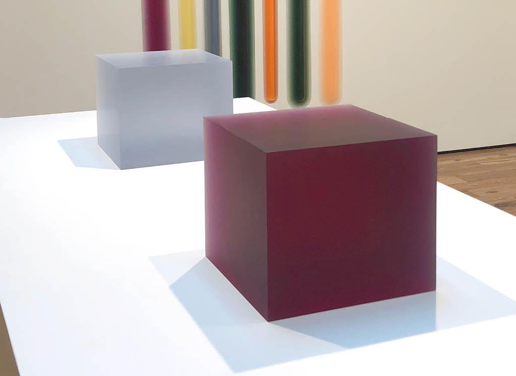 Peter Alexander's 8/8/18 (Kool-Aid box)(2018) and 3/14/16 (Pale Grey Box)(2016)