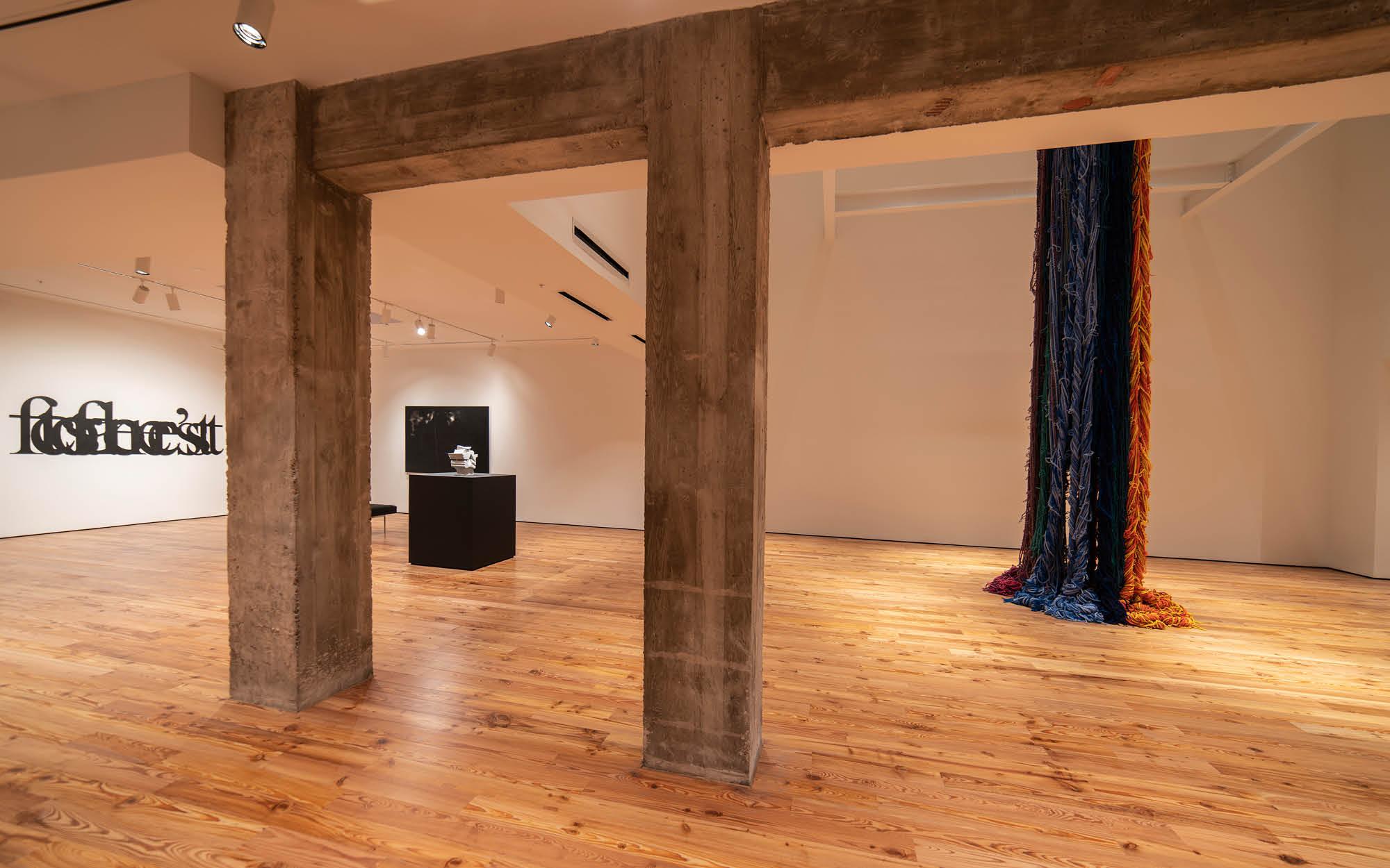 Tom & Sherry Koski Gallery and South Gallery at Sarasota Art Museum